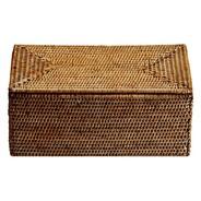 Decor Walther - Basket UTBMD - Box avec couvercle en rotin