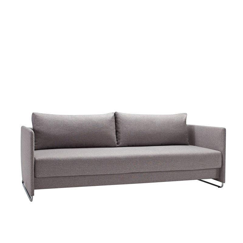 Innovation   Upend Sofa Bed   Grey/frame Chrome/fabric ...