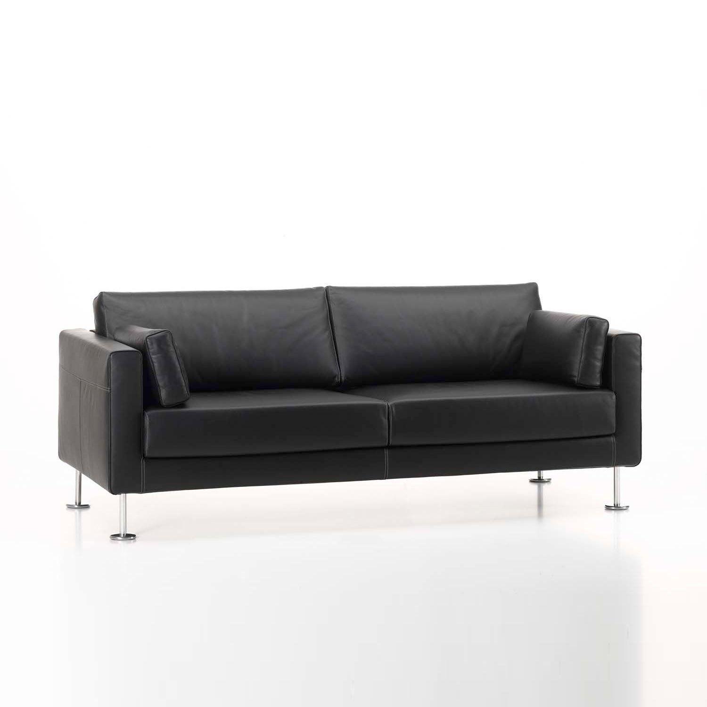 ... Vitra   Park Jasper Morrison 2 Seater Leather Sofa