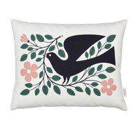 Vitra - Graphic Print Pillow Dove Kissen