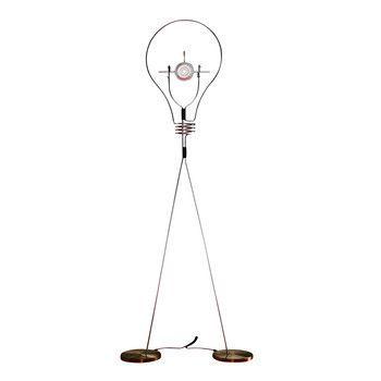 Ingo Maurer - Walking Bulb LED Tischleuchte - edelstahl/messing/350 lm/3000 K/CRI 90/mit USB
