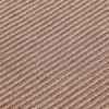 GAN - Garden Layers Diagonal Teppich 90x200cm - mandel-pfirsich/Handwebstuhl