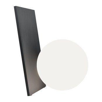 Flos - Extra T LED Tischleuchte - graphit/lackiert/BxHxT 28,2x35x29,2cm/mit Dimmer