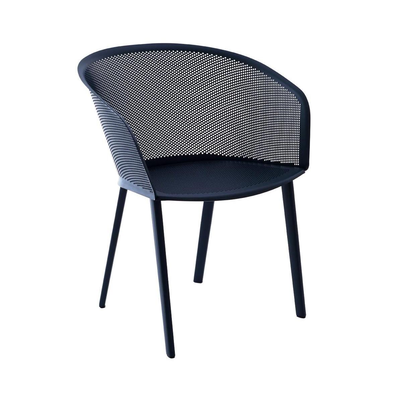 Kettal Stampa - Chaise de jardin avec accoudoirs   AmbienteDirect