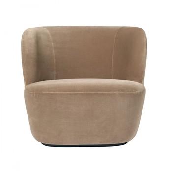 Gubi - Stay Lounge Chair Samt