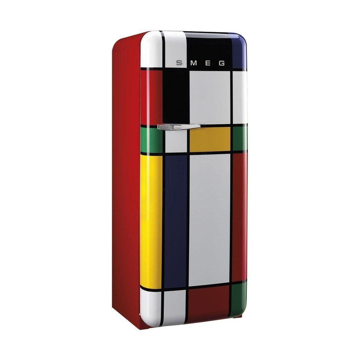 great smeg fabrdmc multicolor rfrigrateur with frigo smeg. Black Bedroom Furniture Sets. Home Design Ideas