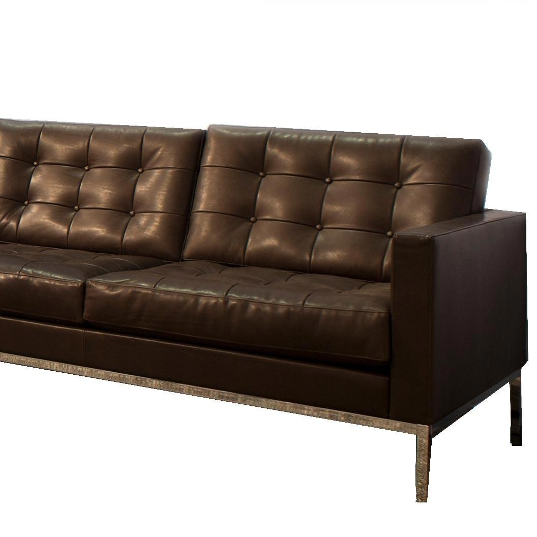 Knoll International Florence Relax 2 Seater Sofa Dark