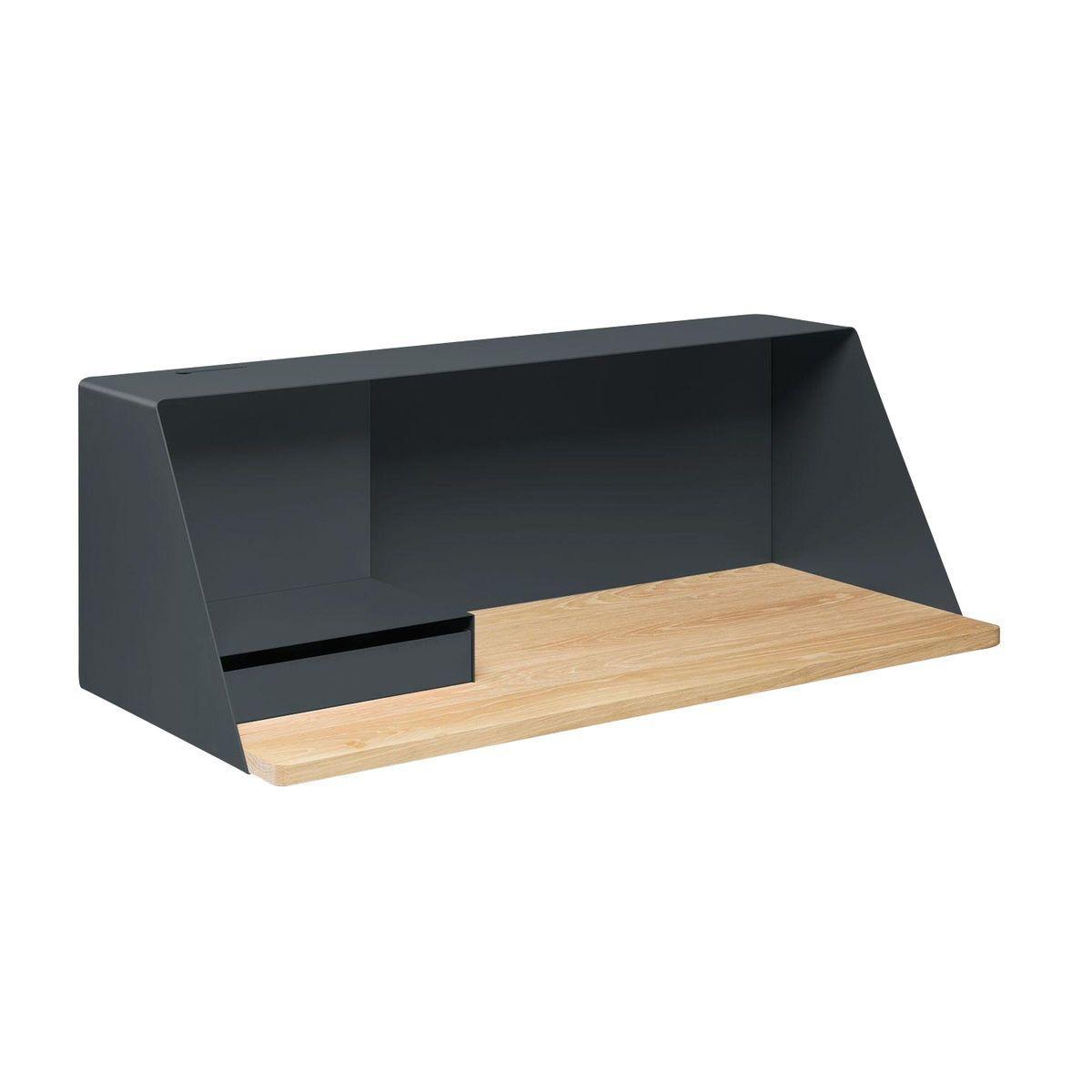 mller ps escritorio de pared xxcm gris basalto ral satn