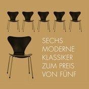 Fritz Hansen: Hersteller - Fritz Hansen - Serie 7 Aktionsset 6 für 5