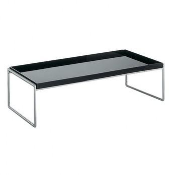 Kartell - Trays Tisch - schwarz/Größe 1/80x40cm