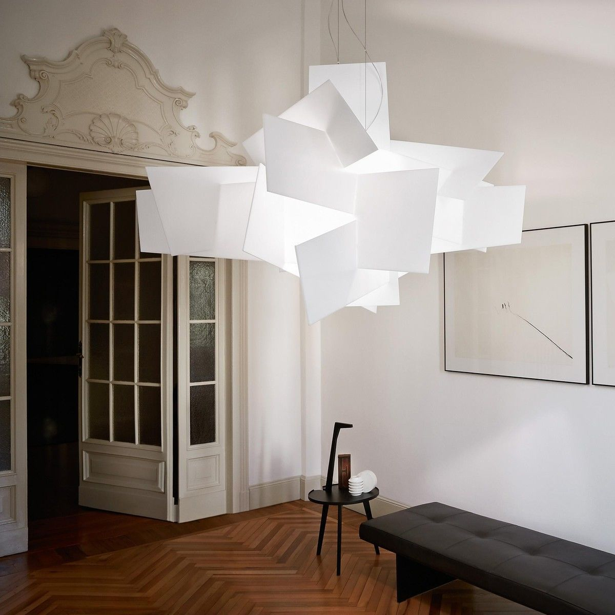 big bang led suspension foscarini. Black Bedroom Furniture Sets. Home Design Ideas