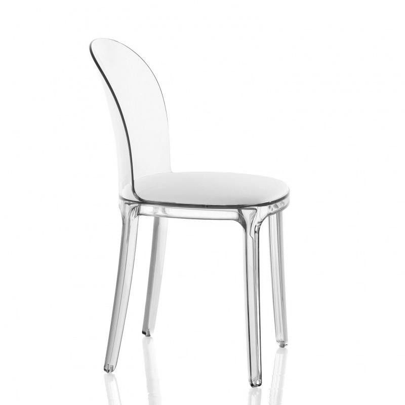Vanity chair transparent magis - Chaise medaillon transparente ...