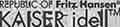 Logo Kaiser Idell