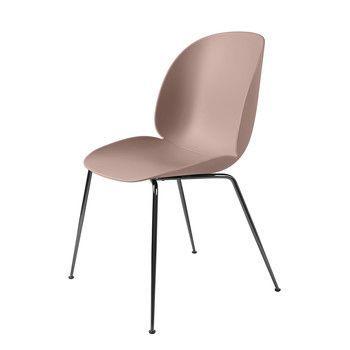 Gubi - Beetle Dining Chair Stuhl Gestell Chrom -