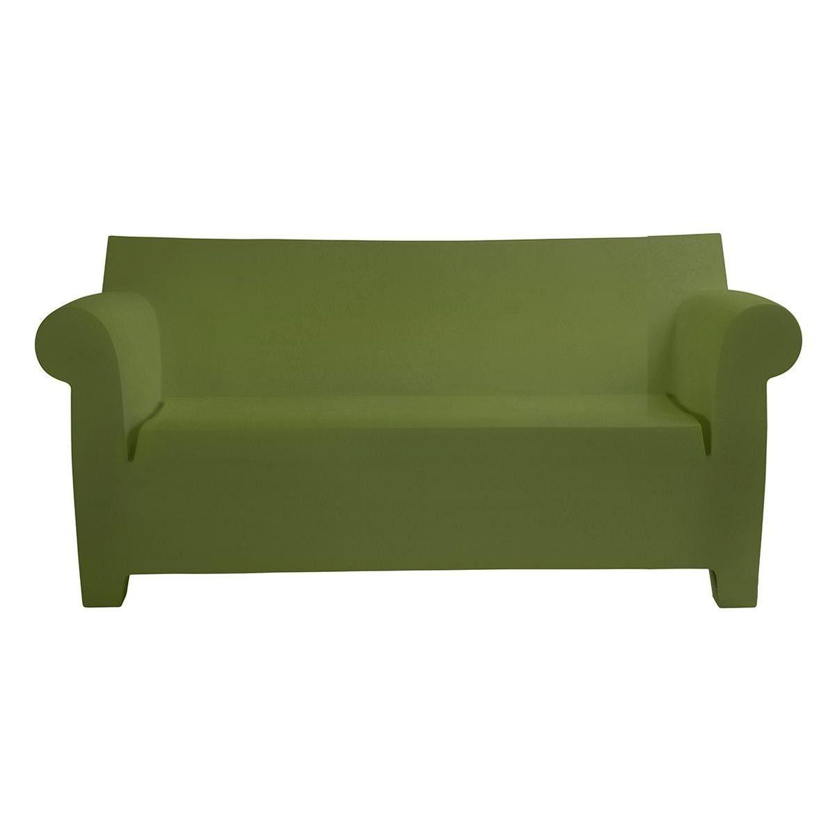 Perfect Kartell   Bubble Club Sofa Two Seater   Green/matt/LxWxH 189x75x76cm/New