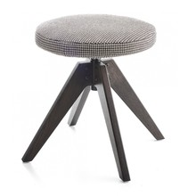 MDF Italia - Flow Stool Upholstered 44cm