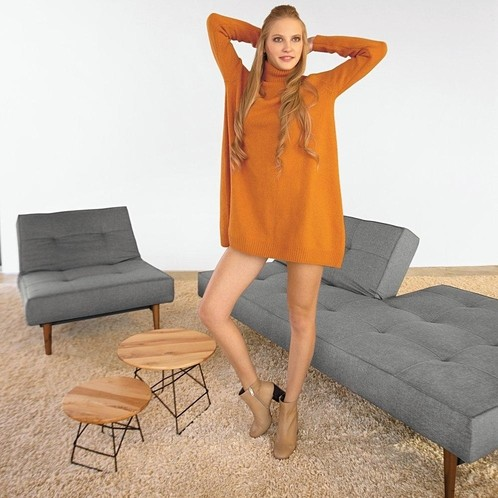 Innovation - Splitback Styletto Schlafsofa