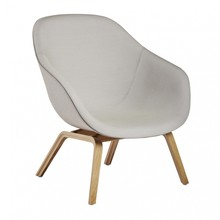 HAY - About a Lounge Chair AAL 83 Sessel Gestell klar lackiert