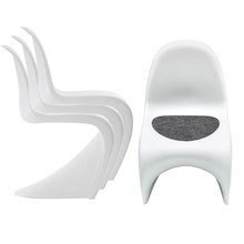 Vitra - Panton Chair - Set promotionnel de 4 chaises