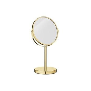 Bloomingville - Glamour Standkosmetikspiegel Ø20cm - gold/Ø 20cm x H 35cm