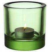 iittala - Kivi Teelichthalter 60mm - apfelgrün/transparent