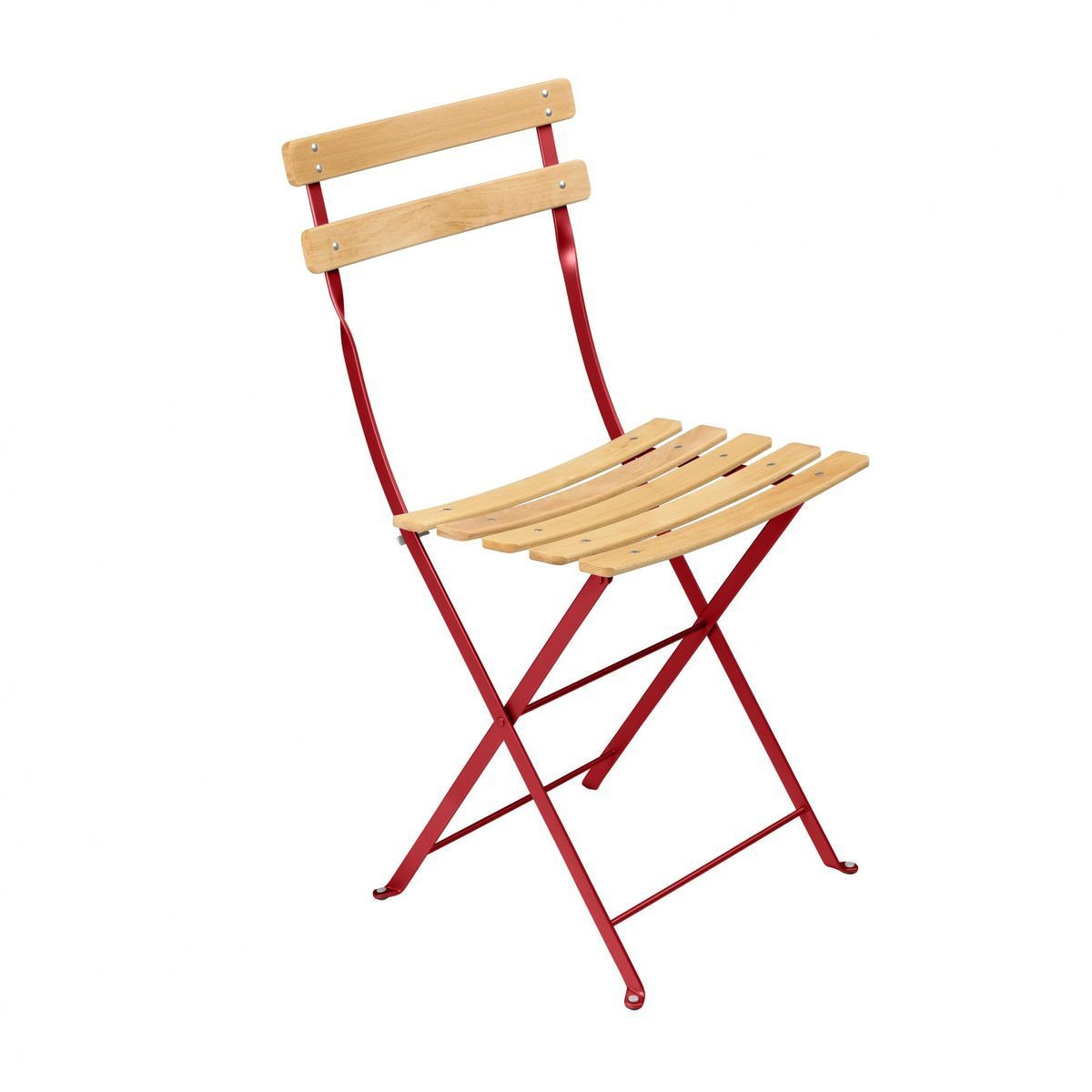 Bistro naturel chaise pliante fermob for Chaise bistrot fermob