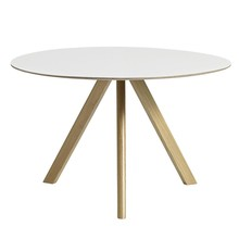HAY - Copenhague CPH20 Dining Table Linoleum Ø120cm
