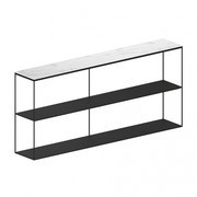 Zeus - Sideboard Slim Marble 180x31x83cm