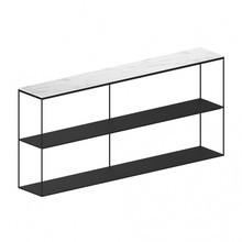 Zeus - Slim Marble sideboard 180x31x83cm