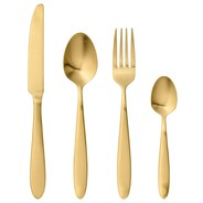 Bloomingville - Golden Times Cutlery Set Of 4