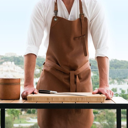 Röshults - Röshults BBQ Apron Leather Küchenschürze