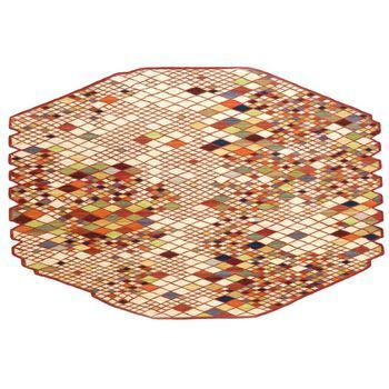 Nanimarquina - Losanges Teppich - multicolour/afghanische Wolle/290x410cm