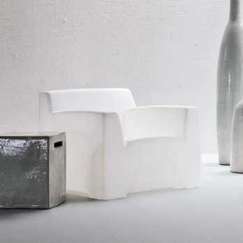 Gervasoni - InOut 101 Outdoor Loungesessel - transluzent
