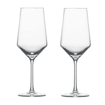 Schott Zwiesel - Pure Bordeauxpokal / Rotweinglas 2er Set - transparent/Tritan® Kristallglas/680ml/H: 26.7cm/Lieferung in Geschenkbox