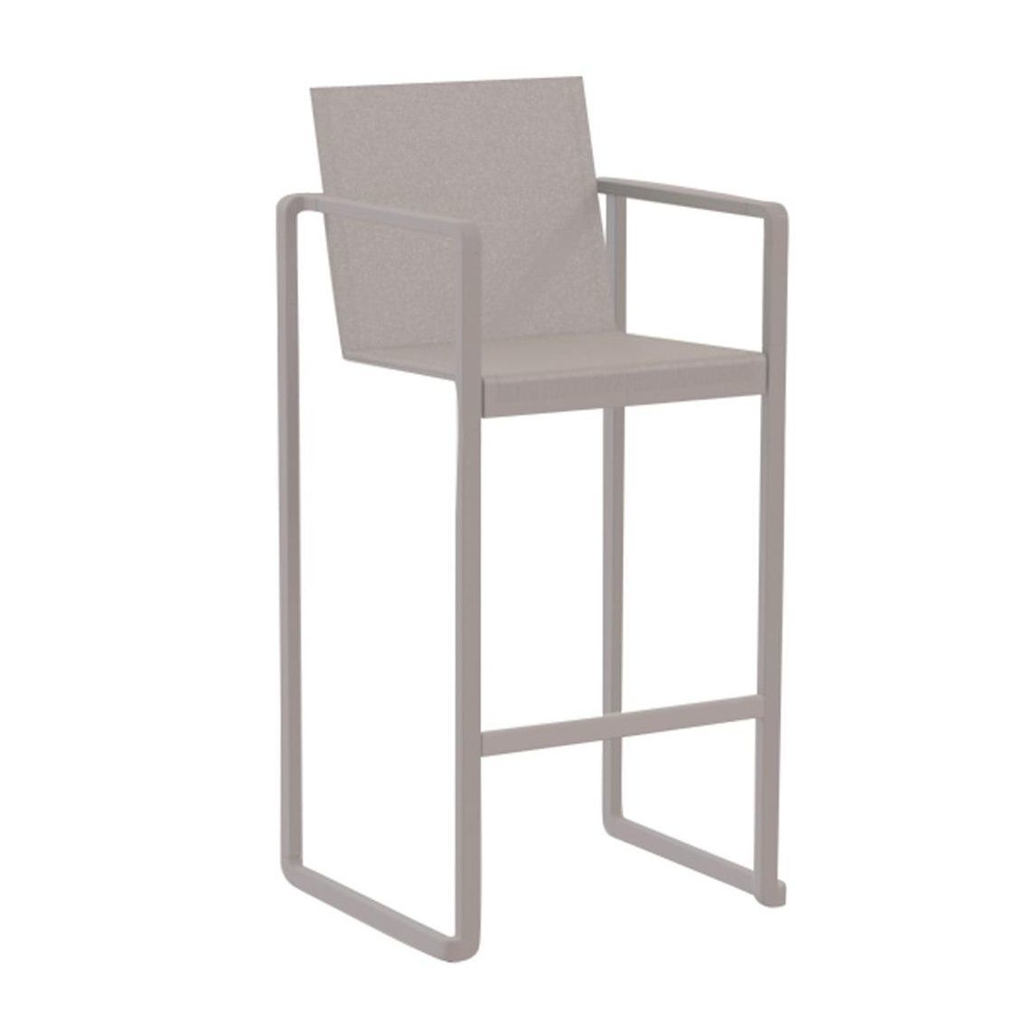 ... Royal Botania   Alura Bar Stool   Taupe/Batyline ...