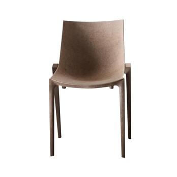 Magis - Zartan Eco Stuhl - beige/Polypropylen/Jute/Gestell braun