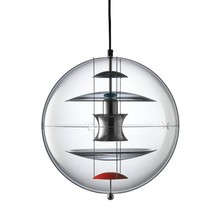 VerPan - VP Globe Colored Glass Suspension Lamp