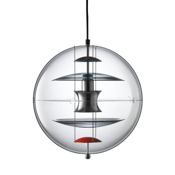 Verpan - VP Globe Colored Glass Pendelleuchte