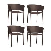 Vondom - Africa - Kit de 4 fauteuils