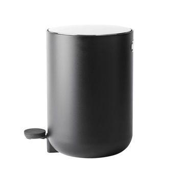Menu - Menu Comfort Treteimer - schwarz/7 L/H: 34cm