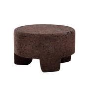 Gervasoni - Table d'appoint / tabouret Cork 44 rond