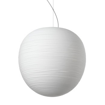 Foscarini - Rituals XL Pendelleuchte - weiß/Glas satiniert/Größe 1, H41cm/Ø 40cm/exkl. Leuchtmittel