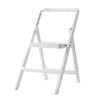 DesignHouseStockholm - Step Mini Leiter  - weiß/lackiert/Stufenhöhe: 20cm