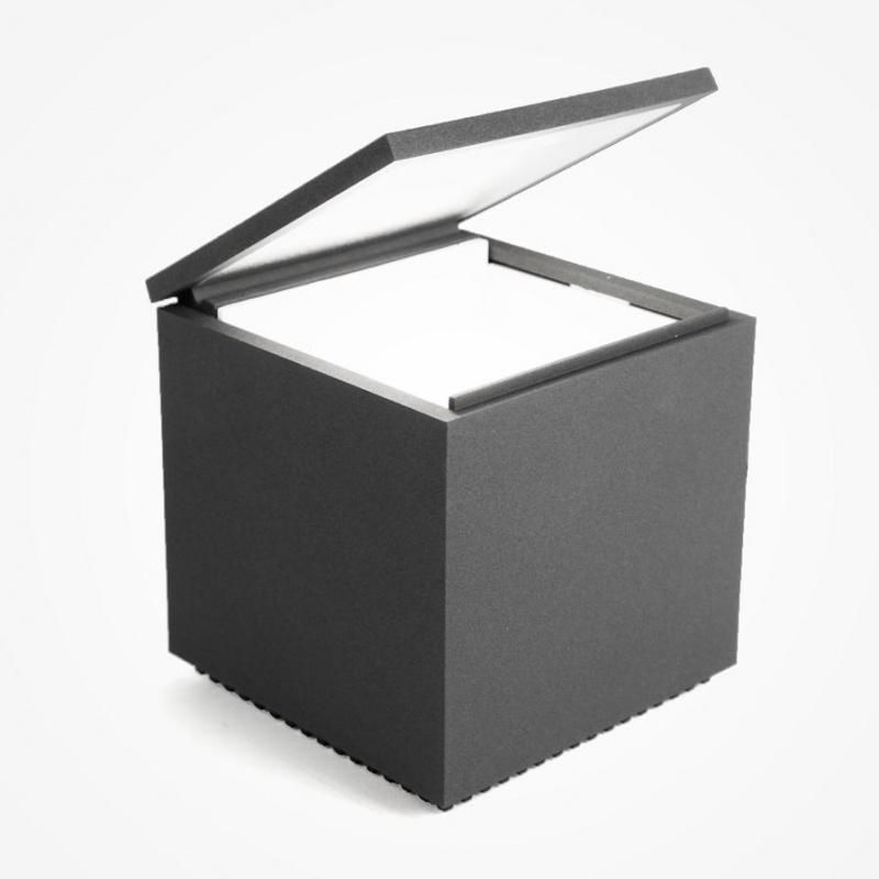 cuboled led nachttischleuchte cini nils. Black Bedroom Furniture Sets. Home Design Ideas