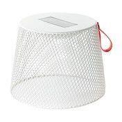 emu - Ivy Pouf / Beistelltisch - weiß /mit Solarleuchte