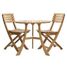 Skagerak - 1 Vendia Table + 2 Vendia Garden Chairs