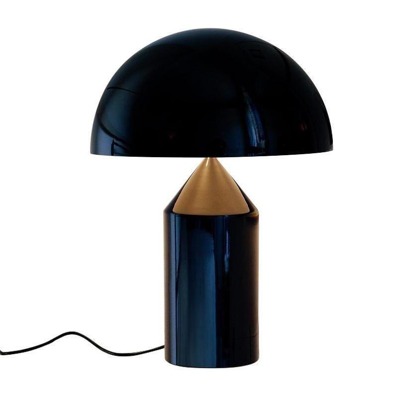 Atollo Table Lamp Black   Oluce   AmbienteDirect.com