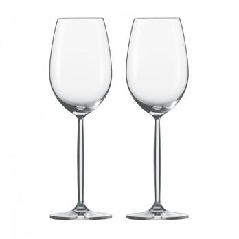 Schott Zwiesel - Diva Weißweinglas 2er Set - transparent/Tritan® Kristallglas/302ml/H: 23cm/Lieferung in Geschenkbox