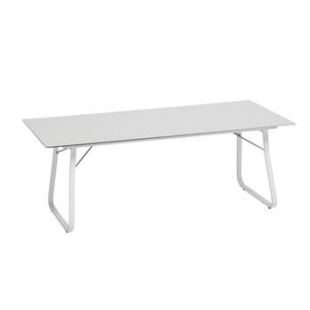 Weishäupl - Ahoi Klapptisch - HPL weiß/Gestell weiß/L x B: 200 x 90cm