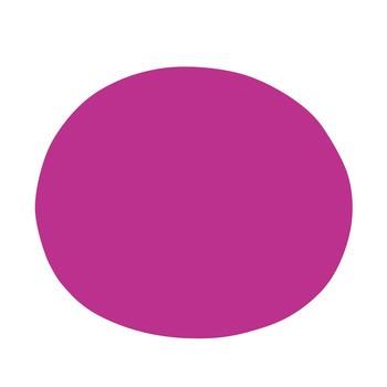 Vondom - Agatha Outdoor Teppich - pink/Größe 2/130x110cm